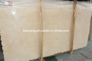 Polished Cream Marble Slab for Home Decoration pictures & photos