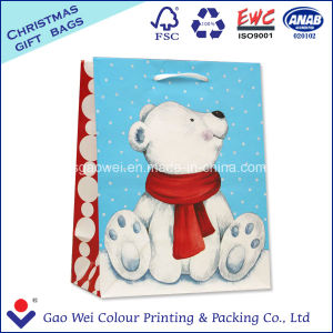 Merry Christmas White Kraft Paper Bag Gift Bag Shopping Bag pictures & photos