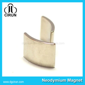 Custom Arc Shaped Rare Earth Sintered NdFeB Motor Magnets pictures & photos