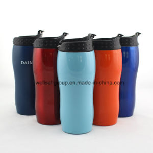 Double-Wall Stainless Steel Coffee Mug with Logo Customized (CPBZ-4099) pictures & photos