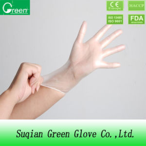 Hospital Product Disposable PVC Exam Gloves pictures & photos