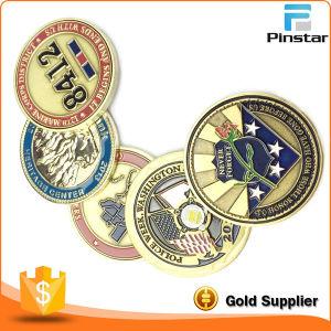 China Cheap Price Round Soft Enamel Souvenir Token Coin pictures & photos