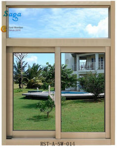 Aluminum Alloy Sliding Window with Good Price Saga Window