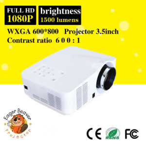 AC100-240V/50/60Hz 1500 Lumens TV Projector