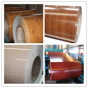 Wood Grain PPGI Prepainted Steel Coil (ZL-PPGI) pictures & photos