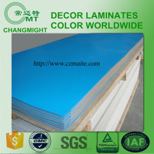 Blue High Pressure Laminate /HPL/0.7mm pictures & photos