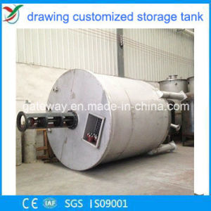 Vertical Fermentation Tank with 600L 81