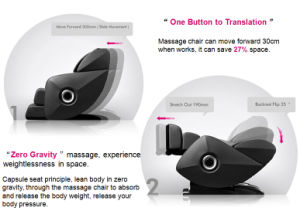 Bluetooth Music Full Body Massager Health Care 3D Massage Chair pictures & photos