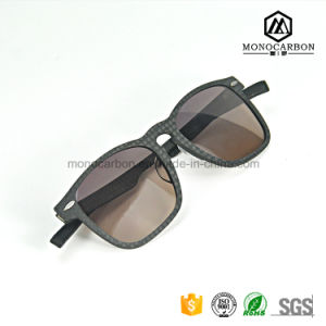 Good Quality Real Carbon Fiber Black Frame Sports Sunglass pictures & photos