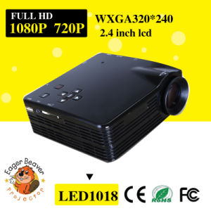 800*600 Support 720p/1080P 20-80 Inch LED Projector