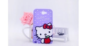 3D Cartoon Kitty Siliconephone Case for Samsung Galaxy G530 J5 J7 J5prime Mobile Accessories (XSK-001) pictures & photos