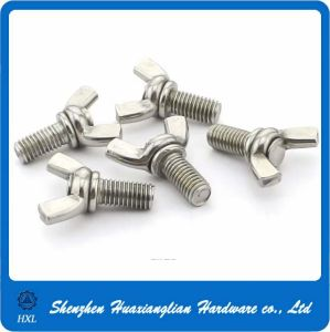 M6 M8 M10 A2 A4 Stainless Steel Wing Butterfly Bolt pictures & photos
