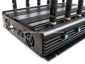Universal 12-Band Desktop Jammer for CDMA GSM Dcs 3G 4G All Cellular Phone Jammer/Lojack Jammer/Blocker WiFi GPS 315/433/868MHz Signal Jammer pictures & photos