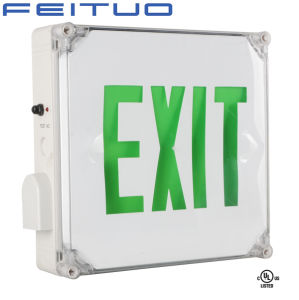 Exit Sign, Emergency Exit Sign, LED Exit Sign pictures & photos