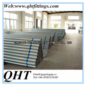 Hot Dipped Galvanized BS1387 Steel Tube on Stock pictures & photos