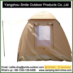 3 Person Thicken Canvas Outdoor Hiking Waterproof Camping Tent pictures & photos