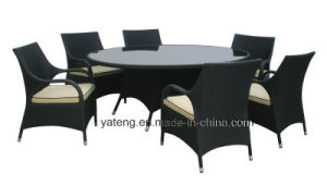Outdoor Garden Furniture Dining Set Round Table Knockdown with Chair (YT267-1) pictures & photos
