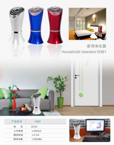 Vase-Like Structure Table Esp Air Purifier with Anion 6million PCS/Cm3 pictures & photos
