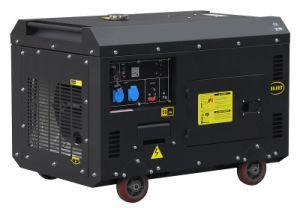 6kw 100%Copper Super Silent Diesel Generator Matte Black pictures & photos