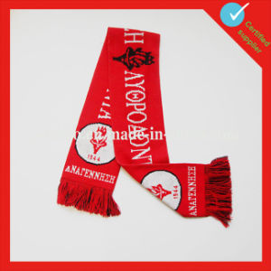 National Flag Print Soccer Wholesale Polyester Scarf pictures & photos