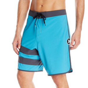 Surf Men′s Quick Dry Swim Wear Plain Shorts