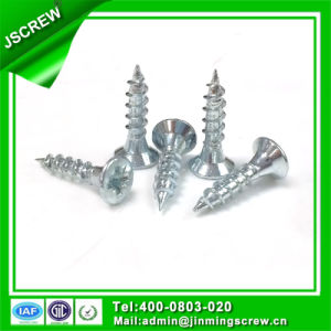 Blue Zinc Plated Chipboard Screw for Furniture pictures & photos