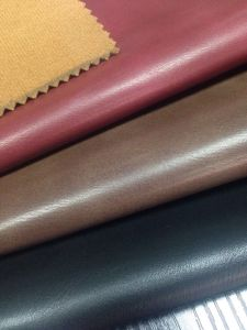 Shoe PU Leather 0.9mm with Embossing and Oiled (U2P425)