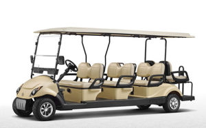 Newest Classic 8 Seats Electric Golf Trolley Worldwide Delivery pictures & photos