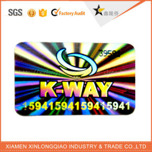 Customized Anti-Fake Label Printing Company Anti-Counterfeiting Custom Hologram Sticker pictures & photos