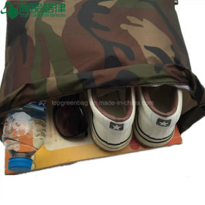 Camouflage Fabric Military Style Travel Sport Cheap Drawstring Backpacks Bags pictures & photos