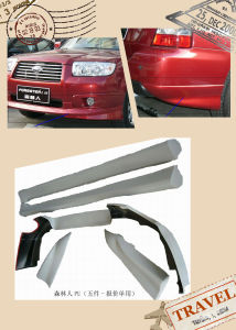 PU Plastic Sti Style Body Kits for Subaru Forester 07th-08th pictures & photos