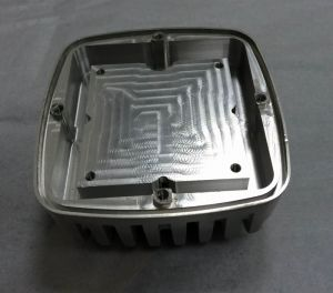 Aluminum LED Lighting Housing with Precision CNC Machining pictures & photos