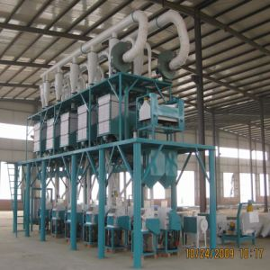 300kg 400kg Per Hour Rice / Wheat Flour Mill pictures & photos