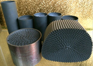 Honeycomb Metal Monolith Substrate Gas Filter pictures & photos