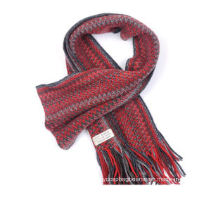 New Design Wholesale Custom Fashion Acrylic Knit Scarf pictures & photos