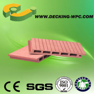 Beautiful Hollow Wood Plastic Composite Decking Board pictures & photos