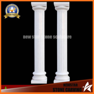 White Marble Carved Roman Column (NS-11C10) pictures & photos
