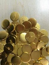 Shiny Gold Zinc Alloy Metal Button Sewing Button for Sweater pictures & photos