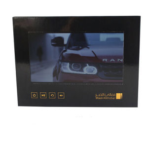 7inch Custom LCD Screen Greeting Video Card From China pictures & photos