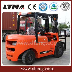 Ltma Forklift 5 Ton Diesel Forklift Price pictures & photos