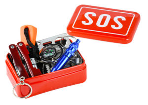 Emergency Kit /Sos 6 in 1 Tool Box/Survival Tin Box pictures & photos