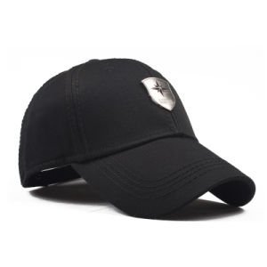 Promotional Wholesale Baseball Sport Cap with Metal Plate pictures & photos