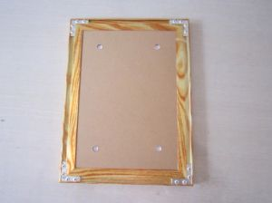 Aluminum Photo Frame (wood) pictures & photos