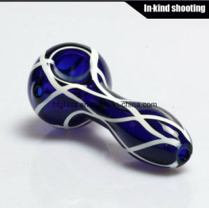 Colored Smoking for Hand Pipes Spoon Glass Pipe DAB Wax Spoon Pipes Tobacco Hookah pictures & photos