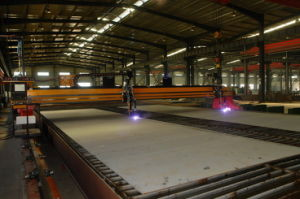 CNC Big Gantry CNC Plasma Cutting Machine pictures & photos