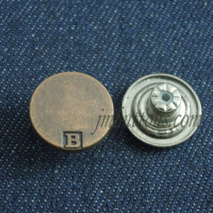 Vintage Custom Brand Fashion Metal Jeans Buttons pictures & photos