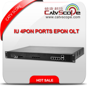 China Supplier High Performance Iu 4pon Ports Epon Olt pictures & photos