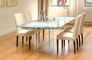 12mm Dining Table Glass Tops with En12150 and ANSI Certificate pictures & photos