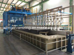 Automatic Controlled Wire Galvanizing Production Line pictures & photos