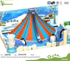 Indoor Play Equipment Climbing Volcano with Slide pictures & photos
